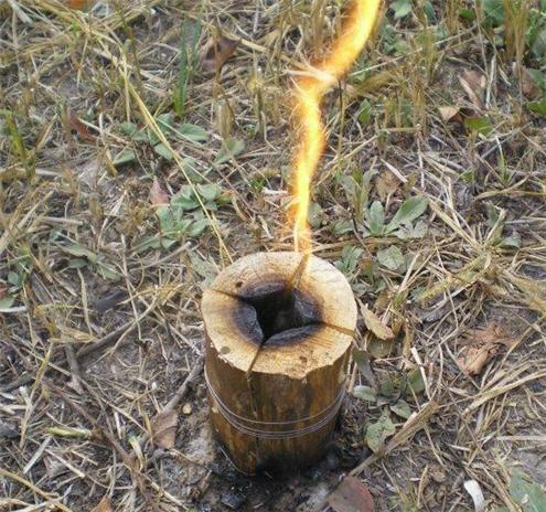 Finská (indiánská) svíce