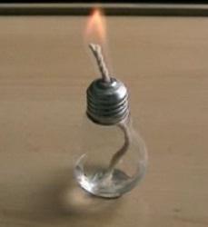 Výroba olejové lampy