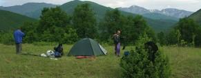 Jak vybrat tábořiště