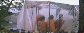 Improvizovaná parní sauna – návod