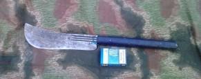 Improvizovaná lopatka a úprava mačety – pár tipů