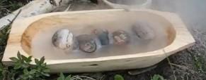 Ohřátí vody pomoci kamenů – video návod