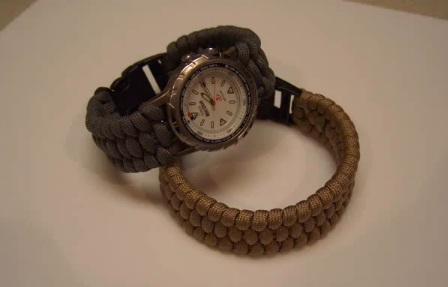Survival náramek na hodinky – videonávod