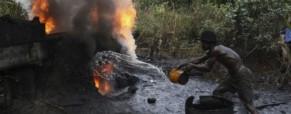 Krádeže ropy v Nigerii