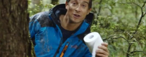 Bear Grylls pro Air New Zealand