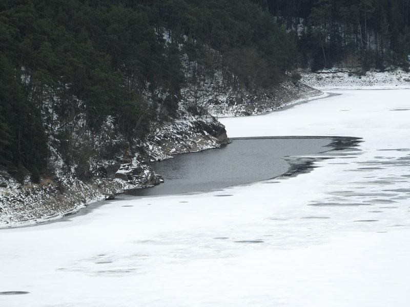 Proboření na ledu – rozbor situace