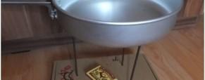 Nejlehčí vařič/stojan – foto návod
