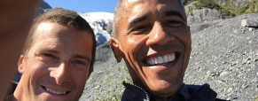 Bear Grylls a Barack Obama vjedné show – jak toto dopadne?