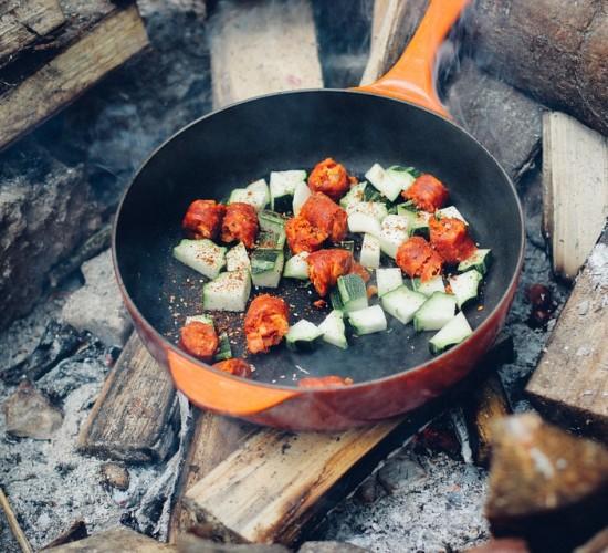 11 způsobů vaření v přírodě