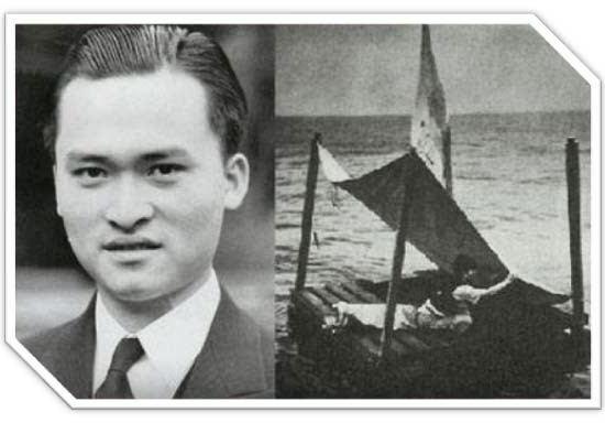 Poon Lim  a jeho rekord v přežití na moři
